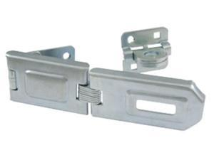 "Ultra Hardware 34060 6-1/4"" Flexible Link Single-Hinged Hasp Safety Lock"