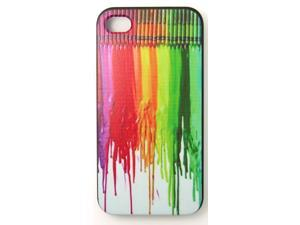 Color Paint on Board Phone Case Cover For iPhone 4 iPhone 4S