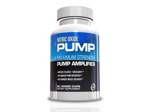 Nitric Oxide Pump, Maximum Strength Pump Amplifier, 90 Veggie Caps