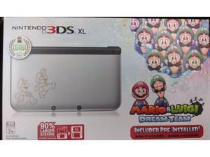 Nintendo 3DS XL Mario & Luigi Dream Team Pre-Installed