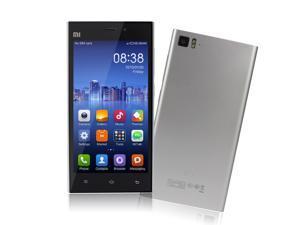 "XiaoMi Mi3  5.0"" Quad Core MIUI V5 Smartphone - FHD Screen 16GB ROM 13.0MP Camera (Silver)"