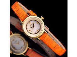 Julius Brand Women's Watches Quartz Rhinestone Top grade PU leather Watchband Fashion girl's Wristwatch JA-675