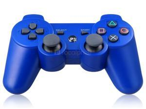 Six-Axis DualShock Wireless Controller for PlayStation 3 (Blue) - OEM