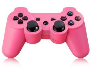 Six-Axis DualShock Wireless Controller for PlayStation 3 (Pink) - OEM