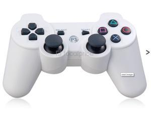 Six-Axis DualShock Wireless Controller for PlayStation 3 (White) - OEM