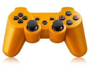 Six-Axis DualShock Wireless Controller for PlayStation 3 (Gold) - OEM