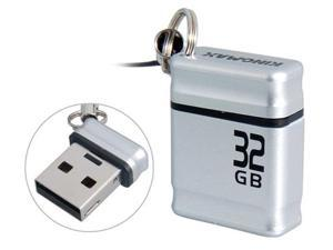 Kingmax Mini 32GB USB Flash Drive (Silver)