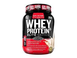 Six Star Pro Nutrition Whey Protein Plus Elite Series,  Vanilla Cream, 2-Pound