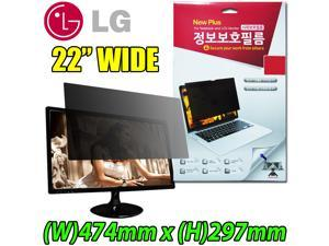 "[22"" Wide 474mm x 297mm] New Plus Original LG Privacy Screen Eyesight Protector Filter Film for 22 inch LCD Monitor"