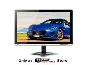 "CROSSOVER BLACK TUNE 2735AMG LED Slim 27"" AH-IPS 2560x1440 WQHD DVI-D PC Monitor"