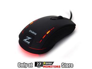 Zalman ZM-M401R Avago A5050 Gaming Sensor Optical Gaming Mouse 2500 DPI