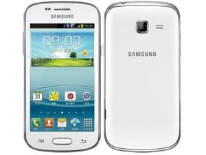 Samsung Galaxy Fresh/Trend Duos S7392 Dual White Factory Unlocked GSM Smartphone