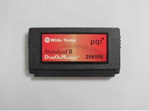 PQI Standard II Wide Temp DiskOnModule DOM 256MB 44PIN