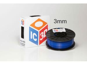 3mm ABS 3D Printer Filament 2lb Blue - OEM