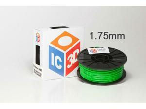 IC3D 1.75mm ABS 3D Printer Filament 2lb Green - OEM