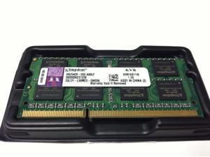 Kingston Value Ram 16GB (2 x 8 GB) DDR3 1600MHz  SODIMM for Laptop Model: KVR16S11/8 HK063x2-NE1