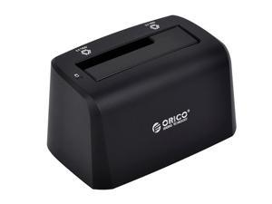 ORICO 2.5 inch and 3.5 inch SATA USB3.0 Hard Drive Docking Station EU Plug(Black)