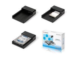 ORICO 2.5/3.5 SATA USB3.0 inch horizontal hard disk seat EU Plug(Black)