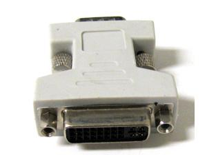 New DVI Female to VGA Male adapter DVI-I dual link 24+5
