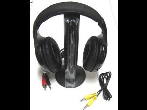 New 5 in1 Wireless Headphone Earphone For MP3 MP4 PC TV CD