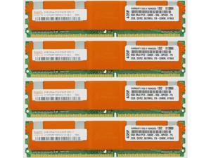 8GB (4X2GB) DDR2 MEMORY RAM PC2-5300 ECC FBDIMM 240 PIN