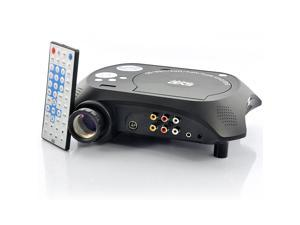 Multimedia LED Projector with Built-in DVD Player (USB/TV/AV IN, 20 Lumens)