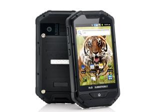 Kolos II - 4 Inch Rugged Android Phone (1GHz CPU, Dual Camera, Dustproof, IP 53 Water Resistant, Shockproof, Black)