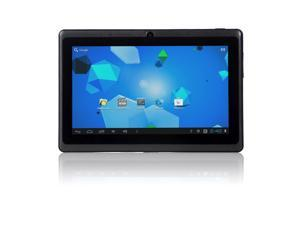 """Lumsing 7"""" Android 4.0 Capacitive Tablet with 4GB Expandable Memory Black"""