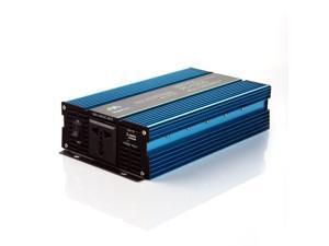 1000/2000W Watt Power Inverter 12V DC to 110v AC Emergency Charger Power outdoor