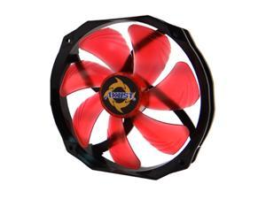 Akust Black-Hole 140mm Blade / 120mm Frame Two Ball Bearing PWM Cooling Fan