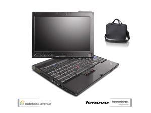 Lenovo ThinkPad X200 Tablet, Intel Core 2 Duo 1.86GHz, 4GB Ram, 160GB HD, Webcam w/ Carrying Case