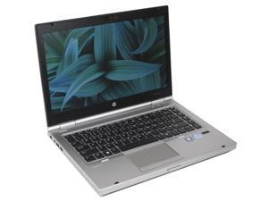 "Refurbished: HP EliteBook 8470P i5 3320M 2.6GHz 8GB 180GB SSD 14"" HD Win 7 Pro 64Bit DVDRW Webcam Display Port ..."