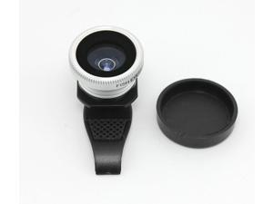 F8002 Universal Detachable Camera Lens External Clip Lens 180 Degree Fish Eye Lens For iPhone iPad Samsung
