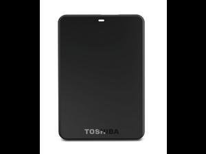 Toshiba Canvio 500 GB USB 3.0 Basics Portable Hard Drive - HDTB205XK3AA (Black)