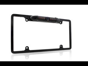[2014 Latest] Esky® EC170-09 Waterproof High Sensitive Color CMOS Chrome Aluminum Alloy Universal Car License Plate Frame ...
