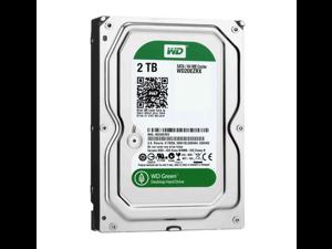 WD Green 2 TB Desktop Hard Drive: 3.5 Inch, SATA III, 64 MB Cache - WD20EZRX