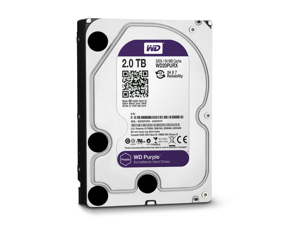 WD 2 TB WD Purple SATA III Intellipower 64 MB Cache Bulk/OEM AV Hard Drive 2 sata_6_0_gb 64 MB Cache 3.5-Inch Internal Bare ...