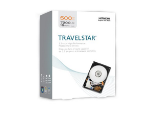 HGST Travelstar 2.5 Inch 500GB 7200 RPM SATA II 16 MB Cache Internal Hard Drive (0S02858)