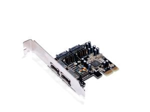Sunweit PCI express SATA II 300 2-Channel RAID Card 2 eSATA + 2 SATA SIL3132
