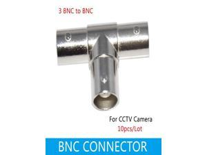Sunweit 10pcs CCTV BNC Connector BNC TO BNC/CCTV Connector,CCTV Accessories