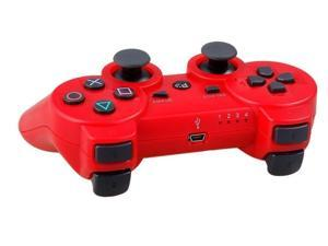 Red Wireless Bluetooth PS3 Wireless Game Controller Dualshock 3 Sixaxis Playstation 3