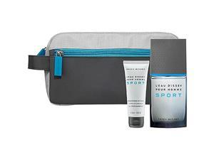 Issey Miyake Leau Dissey Pour Homme Sport Gift Set - edt-sg-toiletry Bag