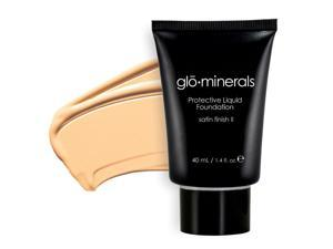 Glominerals Gloprotective Oil-Free Liquid Base - satin Ii  - Beige Light