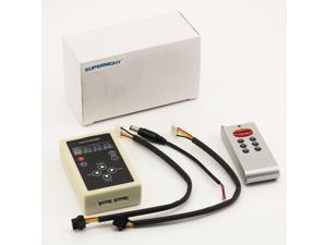 SUPERNIGHT 1812 RF Controller 133 types Change Remote Dimmer for Color Dream Magic Chasing 5050 RGB Strip Light