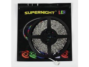 SUPERNIGHT 10m/33ft 5050 RGB Flexible LED Strip DC 24V 300LEDs/10M Festival Decorative LED Light Strips Color Changing LED ...