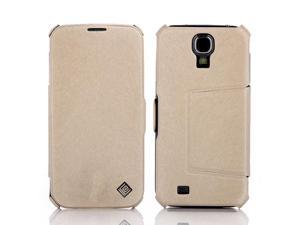 PU Leather Flip Mobile Phone Case Cover Stand Sumsung S4 Galaxy I9500 White