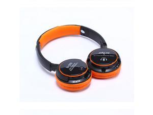 Wireless Bluetooth Circumaural 3.5mm Connector ON-EAR Headset with MP3 playback and FM Stereo Headphone 6 Colors