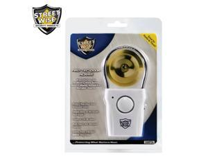 Door knob alarm PRO TEC Alarm by Streetwise Security Products. The 110db security alarm transforms any door knob into a burglar ...