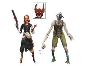 BioShock 2 - Splicer 2 pack - Crawler Splicer & Ladysmith Splicer - NECA