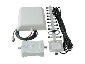 65dB GSM PCS 1900MHz Cell Mobile Cellular Phone Signal Booster Repeater Yagi antenna amplifier